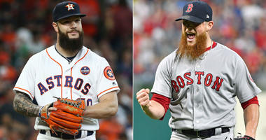 Dallas Keuchel and Craig Kimbrel