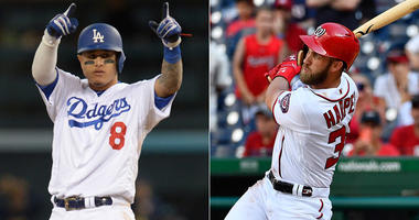 Manny Machado and Bryce Harper