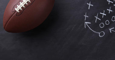 football blackboard