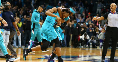 Monk hits 3-pointer at buzzer, Hornets beat Pistons