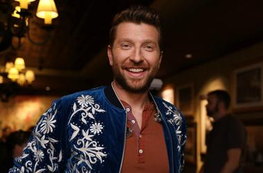 "Brett Eldredge attends ""An Opry Salute to Ray Charles"" at The Grand Ole Opry"