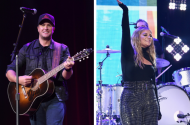 Luke Bryan and Lauren Alaina