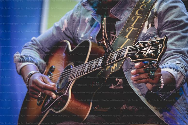 Jimmie Allen's Guitar