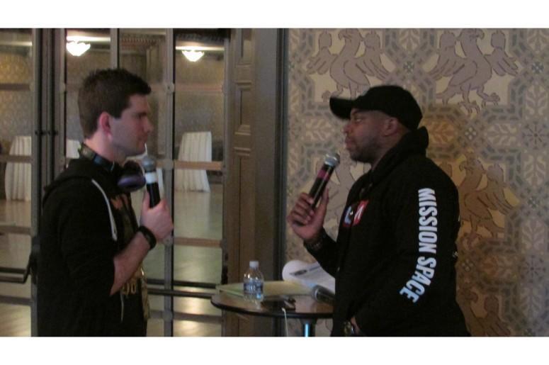 Crockett Chatting With Jimmie Allen