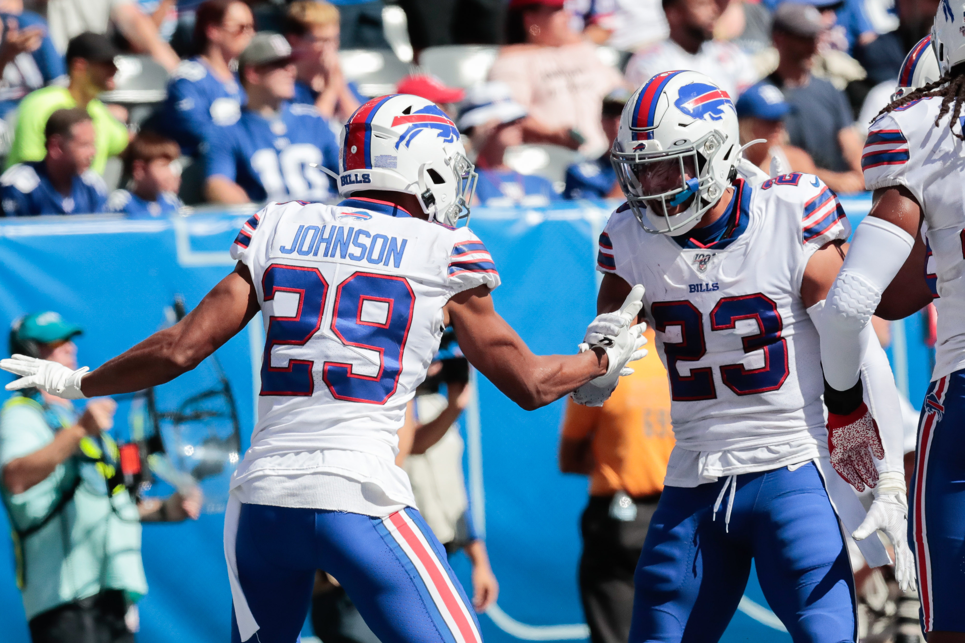 """Hyde on Josh Allen: """"He's a kid, just out ther having fun"""""""