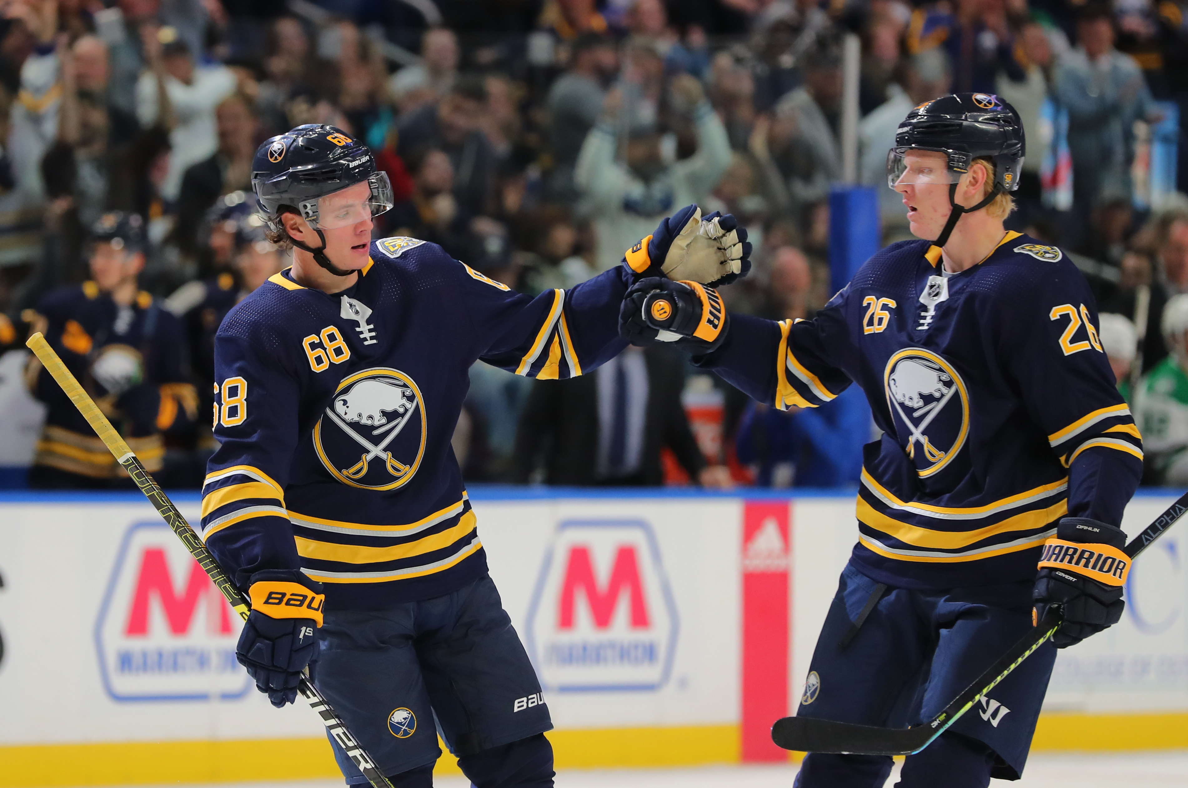 Sabres run over Dallas 4-0