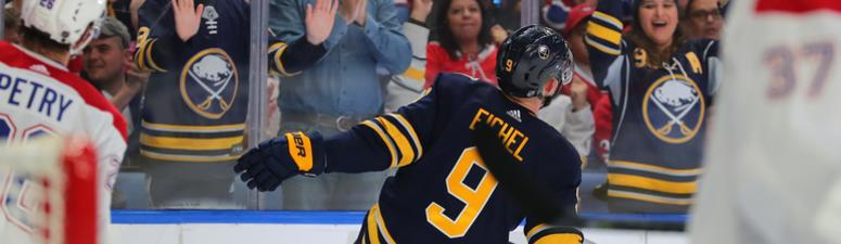 The Sabres prevail in a game that never stopped going back and forth