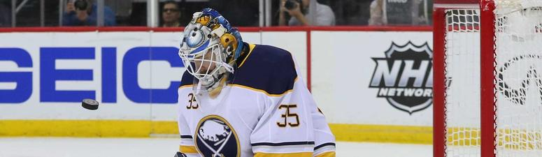 The Sabres sign Linus Ullmark