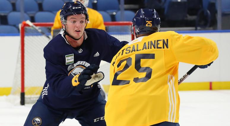 Borgen relishing his opportunity with the Sabres