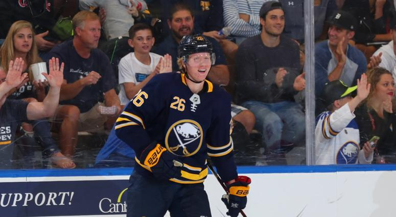 online store 93207 6f4a9 Sabres' Dahlin gave the fans everything they were looking ...