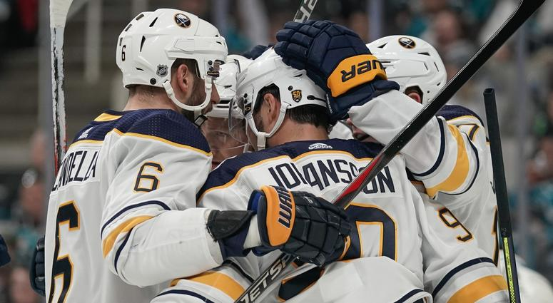 The Sabres used some good work to win in San Jose