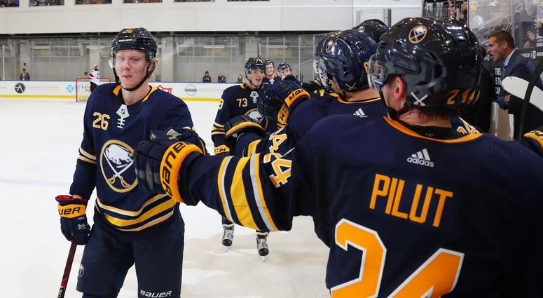 the best attitude 18461 1914e Dahlin shines as Sabres beat Devils at Prospects Challenge ...