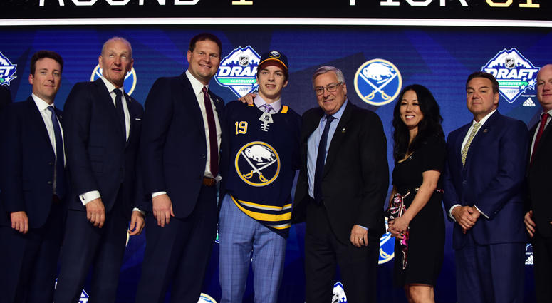Sabres select defenseman Ryan Johnson with last pick in first round