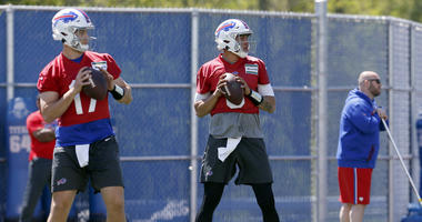 Bills' Allen targeted what he wanted to get better at this spring