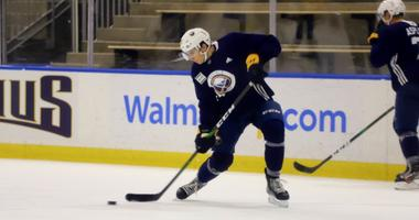 Sabres' Cozens can't wait to play in a game