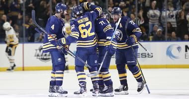 Sabres to play five times on national television