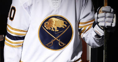 The Sabres reveal their third jersey for the 50th anniversary season