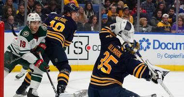 Elie, McCabe, Rodrigues and Ullmark file for salary arbitration