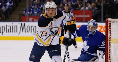 Sabres' Reinhart said playing for Team Canada gave him a feel of the postseason