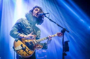 Hozier performs live on stage at the O2 Brixton Academy