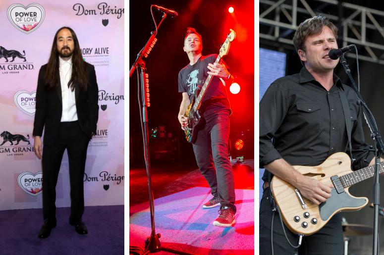 Steve Aoki, Blink-182, Jimmy Eat World
