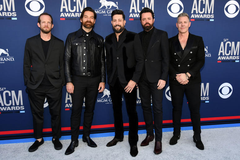 Old Dominion attends the 54th Academy Of Country Music Awards at MGM Grand Hotel & Casino on April 07, 2019 in Las Vegas, Nevada