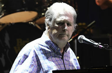 Brian Wilson performs at the Hard Rock Live