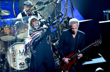 Fleetwood Mac perform onstage during MusiCares Person of the Year