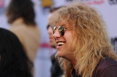 Steven Adler, Guns N Roses drummer, smiles.