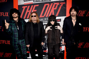 """Motley Crue is being sued by worker who was electrocuted on set of Netflix movie """"The Dirt""""."""