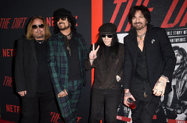 Mötley Crüe soundtrack to The Dirt put the band in Billboard top 10.