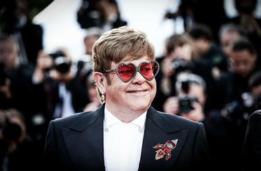 """Elton John comments on new film """"Rocketman""""."""