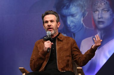 The director of 'Dark Phoenix', Simon Kinberg, discusses the film at South Korean premiere.