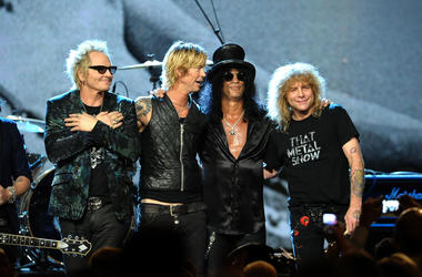 Guns N Roses sues a brewery over name.