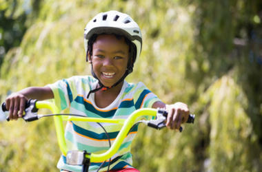 Students at a Rockville school received free bikes for doing good in their community.