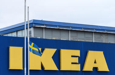 IKEA store front.