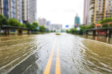 Loans to repair flood damage will be available at low rates.