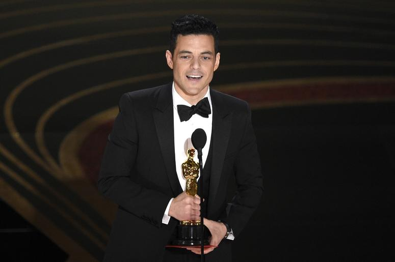 Rami Malek wins best actor Oscar for 'Bohemian Rhapsody'