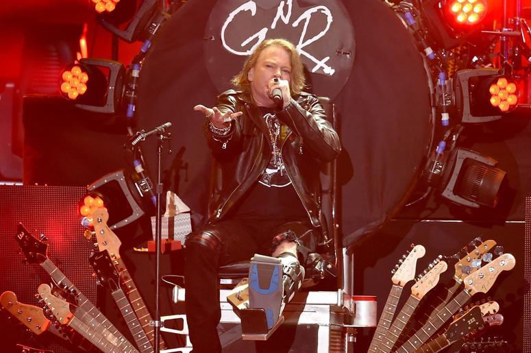 Axl Rose Guns N' Roses