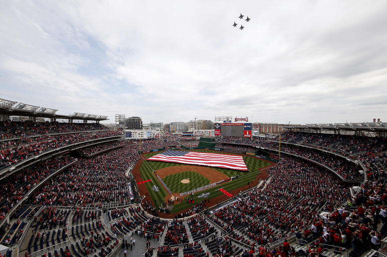 Nats Park will be open to fans.