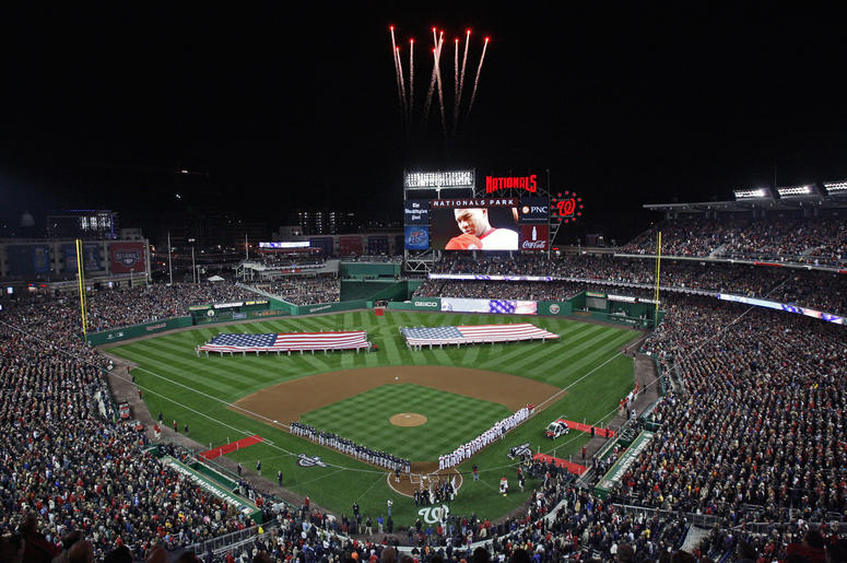 Watch the World Series at Nats Park.