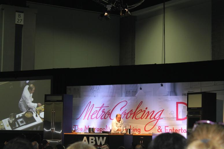 Emeril Lagasse on the James Beard Foundation Cooking Stage