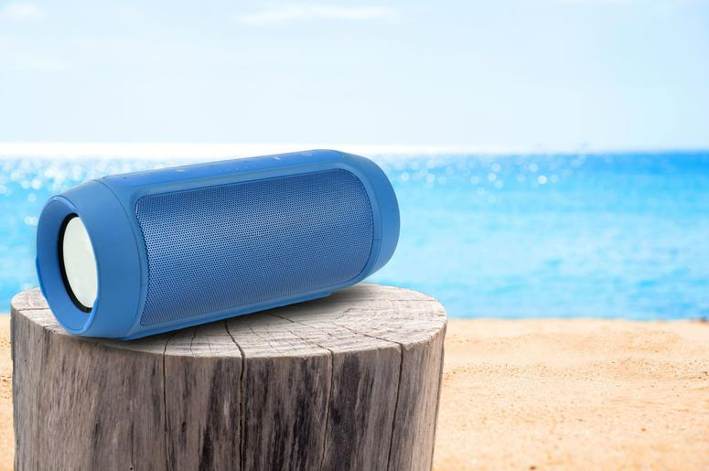 This bluetooth speaker will liven up any dull atmosphere.