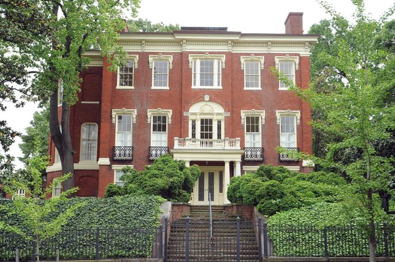 Robert Bass Georgetown house expensive home mansion washington dc