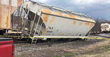 Train Derailment in Dickson City