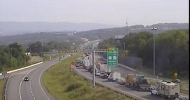 UPDATE: Cleared    WILK Traffic: Major Back Up I81 North