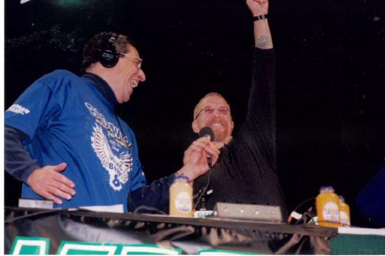 Angelo Cataldi and Pat Croce