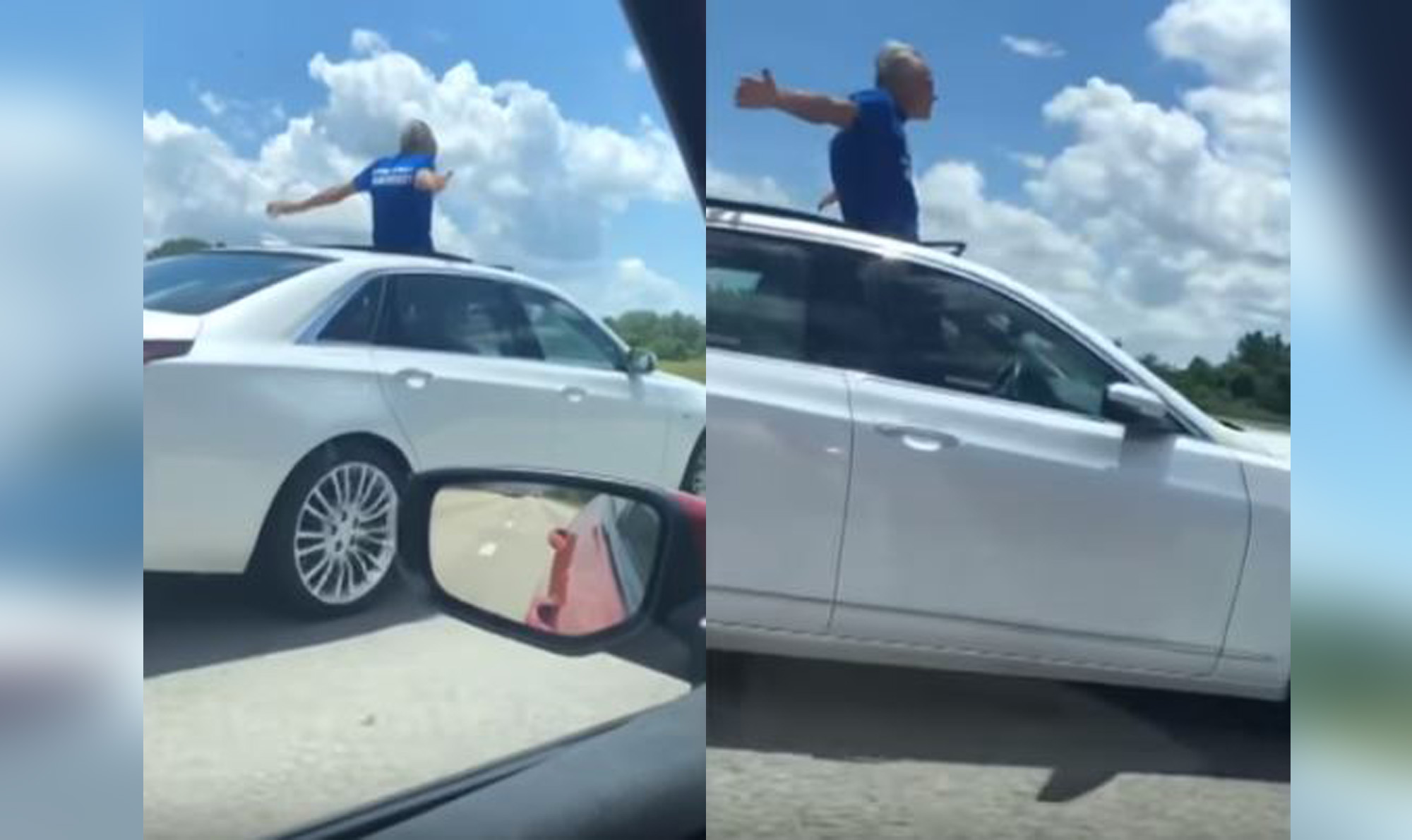 Florida man caught driving on sunroof: I'd rather go to jail