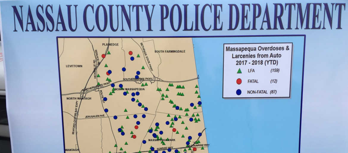 Mapping System Will Help Nassau Cops Bust Drug Dealers