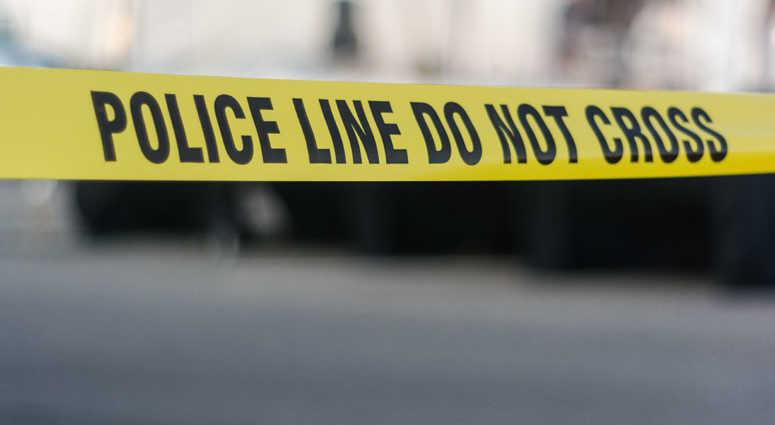 Police tape file image.
